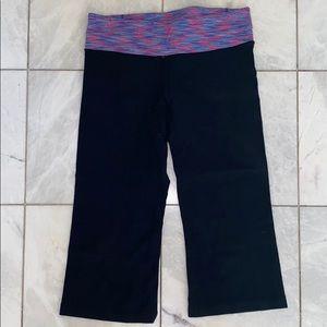 Lululemon flare crop leggings! (size 8)